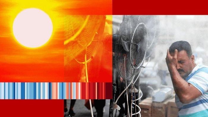 Dampak Perubahan iklim, Dunia Jadi Dua Kali lebih Panas,  Suhu Capai 50 Derajat Celsius