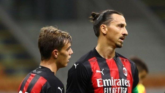 Zlatan Ibrahimovic: Di Lapangan, Pemain Muda atau Tua AC Milan Sama Saja
