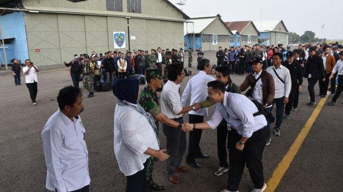 Aksi Kemanusiaan, Sejumlah CPNS PUPR Diberangkatkan ke Lombok