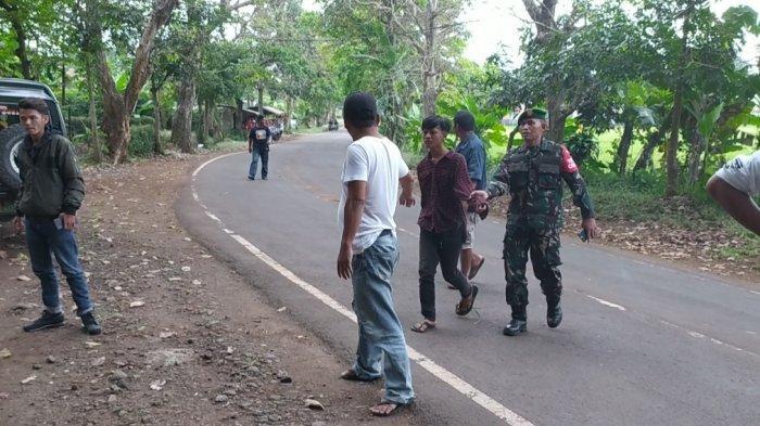 Aksi Berani Danramil di Cianjur Lari ke Tengah 2 Geng Motor yang Sedang Berperang, 4 Orang Diamankan