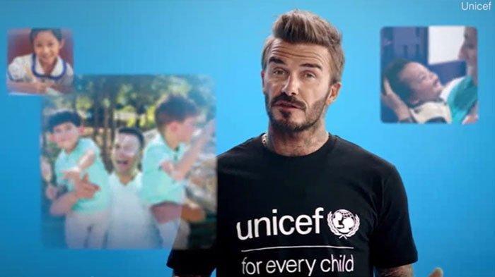 David Beckham Turun Tangan Bareng UNICEF Kampanye Vaksin Hindarkan Anak-anak dari Penyakit Mematikan