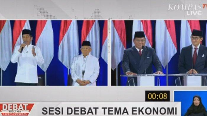 Adu Gagasan Soal Negara Maritim & Agraris yang Maju, Prabowo ke Jokowi: Saya Tidak Menyalahkan Bapak