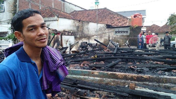 Rumah Pemilik Warung Soto PSGC Terbakar, Uang Kas RT Jadi Abu, 2 Sepeda Motor Tinggal Rangka