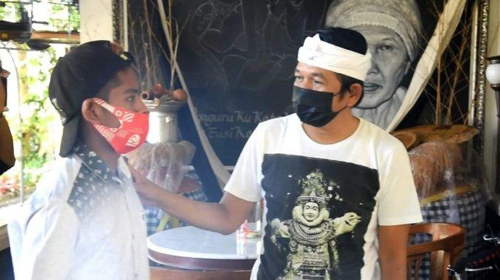 Dedi Mulyadi Tawari Pekerjaan atau Bisnis Kuli Bangunan Viral yang Dipecat Gara-gara Gak Pakai Masker