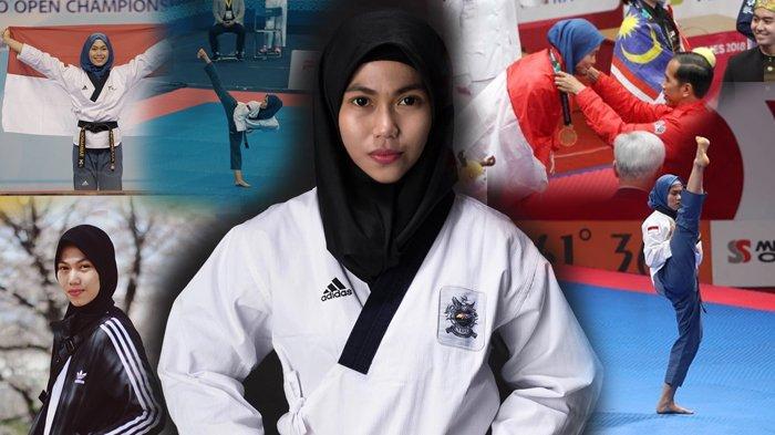 Profil dan Foto-foto Defia Rosmaniar, Penyumbang Emas Pertama untuk Indonesia di Asian Games 2018