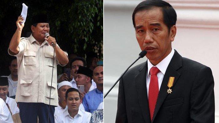 Prabowo Tolak Hasil Penghitungan Suara Pilpres 2019, Jokowi Tanggapi Begini