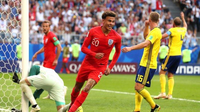 Inggris Melaju ke Semifinal Usai Hentikan Swedia 2-0, Tunggu Kroasia atau Rusia