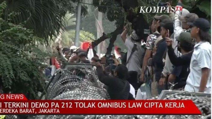 Sejumlah CCTV di Jakarta Mati saat Demo Tolak UU Cipta Kerja Berlangsung, Apa Penyebabnya?
