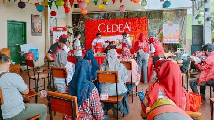 CEDEA Ajak Penyuka Olahan Ikan Masak Bareng Sama Chef Twin di Toserba Yogya Sukabumi