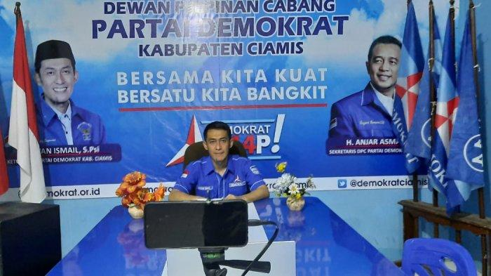 Partai Demokrat Ciamis Gelar Doa Bersama, ''KLB Medan Tidak Ada''