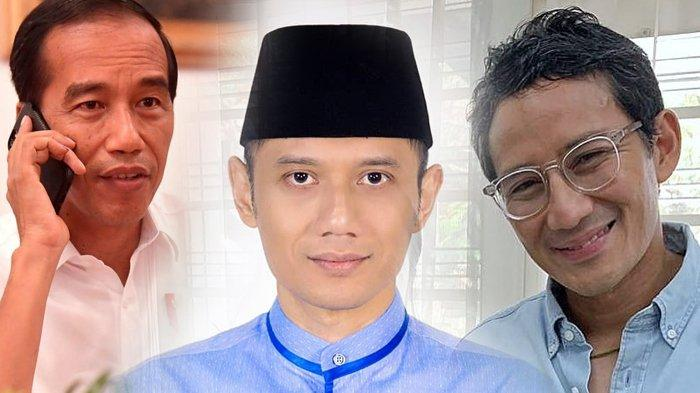 Beredar Nama-nama Calon Menteri Jokowi, Ada Nama AHY, Bagaimana dengan Sandiaga Uno?