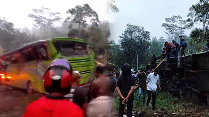 Jenderal Polisi Sebut Sopir Harus Pandai Main Gigi di Turunan Palasari, 8 Penumpang Bus Tewas