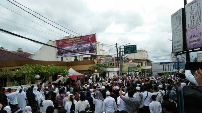 Di Kota Sukabumi, Aksi 1812 Diisi dengan Istigasah, Minta Habib Rizieq Shihab Dibebaskan