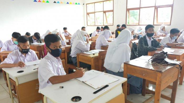 Persiapan Pembelajaran Tatap Muka di Sekolah di Jabar, Sekolah Zona Hijau Sudah Melakukannya