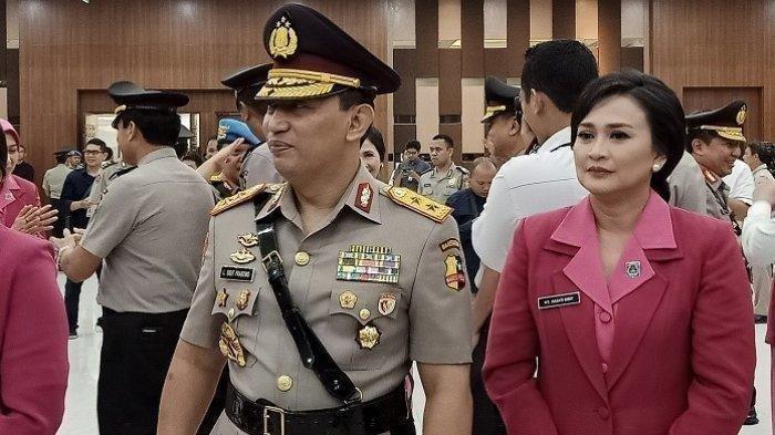 Sosok Diana Listyo atau Juliati Sapta Dewi Istri Kapolri Jenderal Listyo Sigit Prabowo