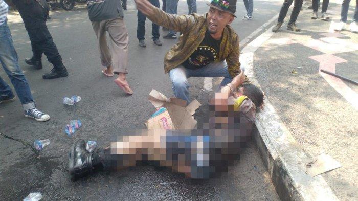 Ternyata Bukan Ridwan yang Pertama Kali Padamkan Polisi yang Dibakar Hidup-hidup di Cianjur tapi Dia