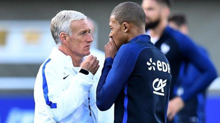 Semifinal Piala Dunia 2018 Perancis Vs Belgia, Ada yang Aneh Kata Didier Deschamps dan Kylian Mbappe
