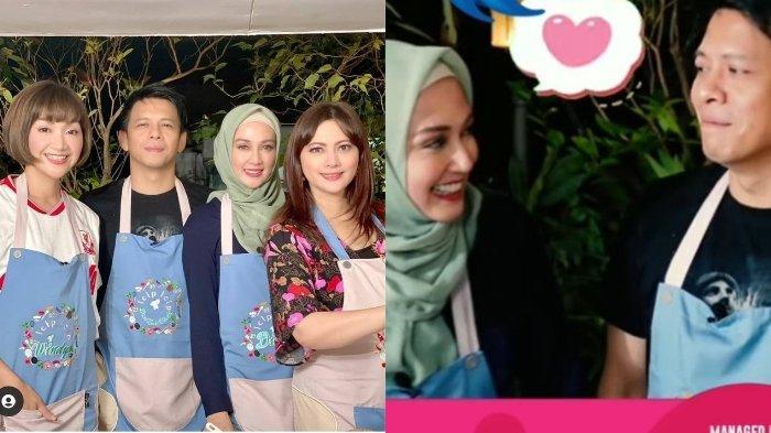 Dina Lorenza Pajang Foto Ariel NOAH di Instagram, Netizen Baper, Disebut Cocok Didoakan Berjodoh
