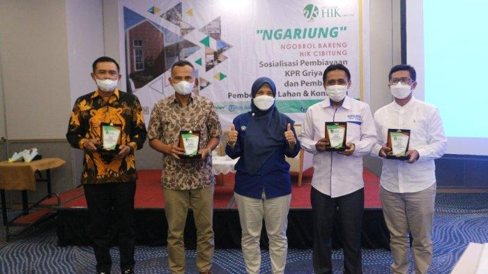 BPRS HIK Cibitung Kolaborasi Bersama Asosiasi/Himpunan Para Pengembang Jabar