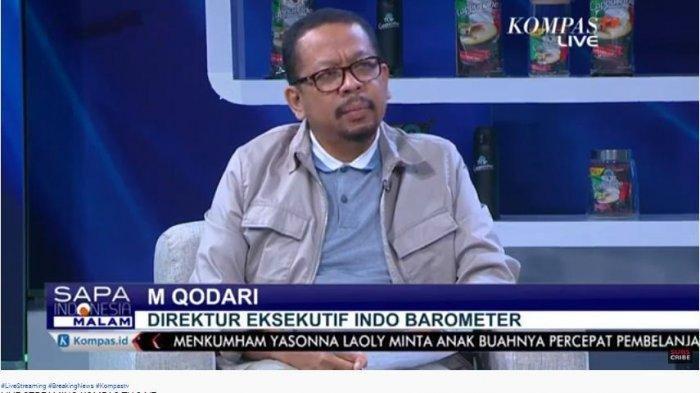 Siapa M Qodari yang Hari Ini Trending Topic Tagar #TangkapQodari, Dia Pengusung Jokowi 3 Periode