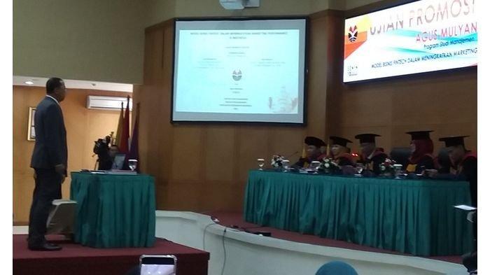 Amul Model Cocok Dikembangkan di Indonesia, Agus Mulyana Raih Doktor Ilmu Manajemen UPI