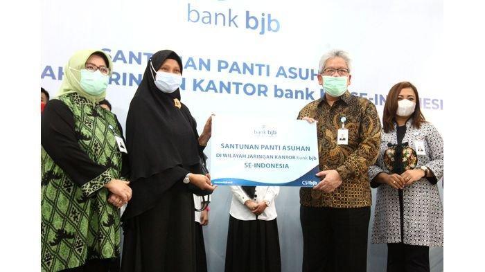 Tandamata di Tengah Pandemi, bank bjb Salurkan Bantuan Kemanusiaan untuk Panti Yatim