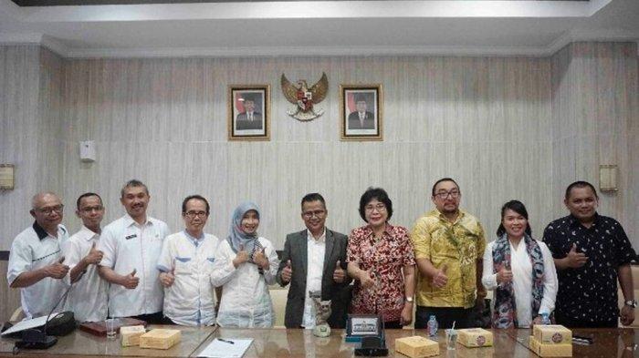 Disdik Sulawesi Utara Belajar Penerapan Teknologi Informasi di Dunia Pendidikan Jawa Barat