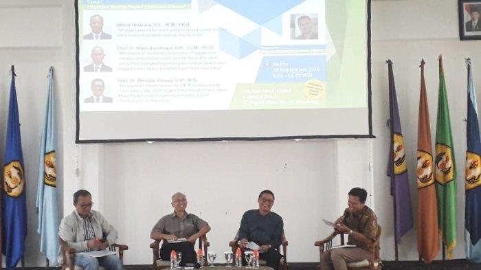 Pemilihan Rektor Unpad Berbau Isu Kesukuan, Prof Dr Obsatar Sinaga Akhirnya Angkat Bicara