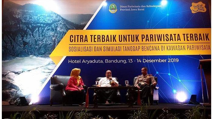 Sinergikan SOP MKKP dan PKKP, Disparbud Jabar Gelar Sosialisasi dan Simulasi di Bandung