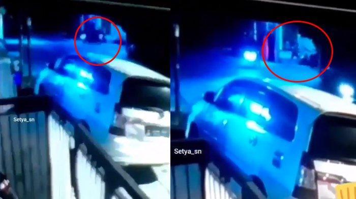 Viral Rekaman CCTV Pemuda di Bekasi Bacok Satpam Kompleks, Kesal karena Ditegur Tak Pakai Masker