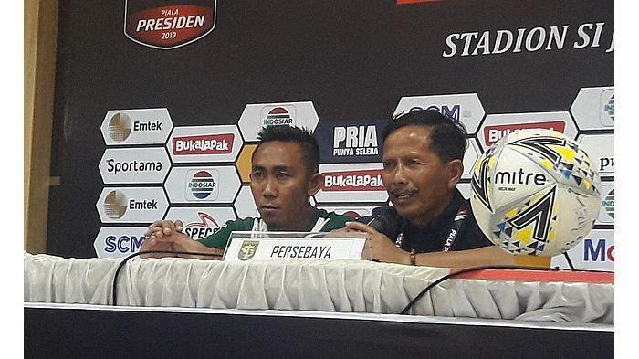 Hadapi Arema FC di Final Piala Presiden 2019, Persebaya Terancam Tidak Didampingi Djadjang Nurdjaman