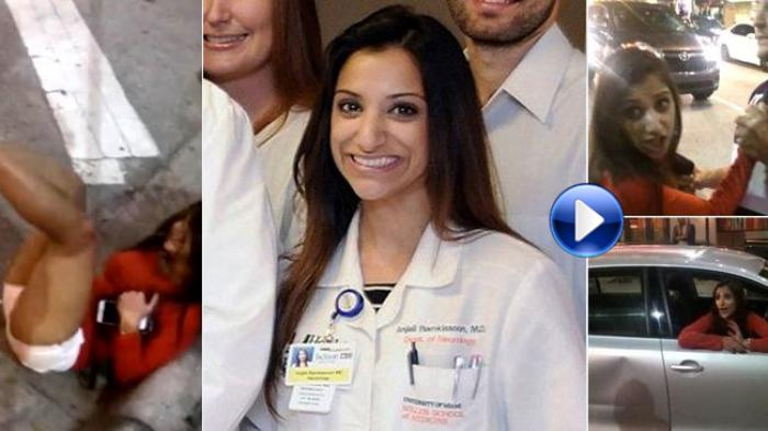 [VIDEO] Terungkap Wanita Cantik Berpakaian Seksi yang Serang Sopir Taksi Uber Itu Seorang Dokter