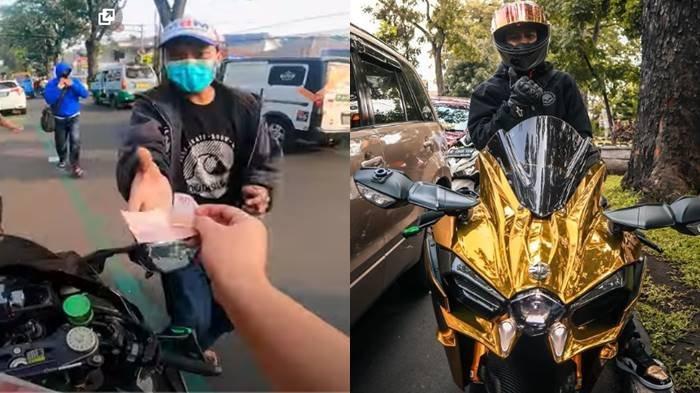 Doni Salmanan Bagi-bagi Uang di Jalanan Bandung, Ternyata Ini Sumber Duitnya, Dulunya Pernah Susah