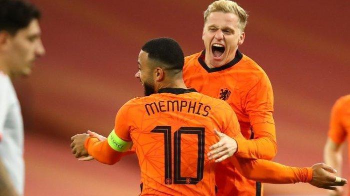 Hasil Kualifikasi Piala Dunia 2022, Timnas Belanda Pesta Gol ke Gawang Timnas Gibraltar
