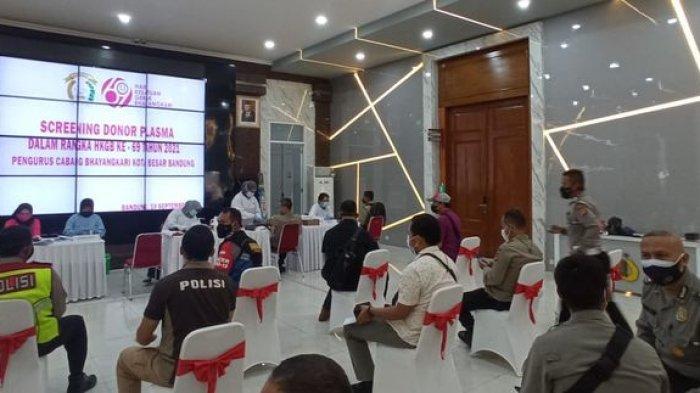 Puluhan Polisi Penyintas Covid-19 Lakukan Donor Plasma Konvalesen Demi Penyembuhan Pasien