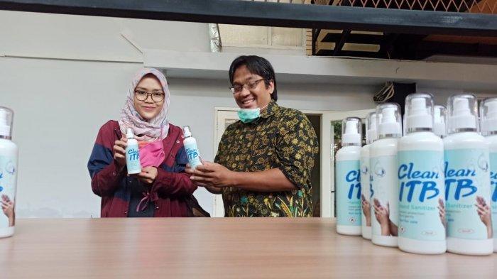 Dosen Muda ITB Bikin 200 Liter Hand Sanitizer, Dibagikan Gratis ke Sejumlah Rumah Sakit