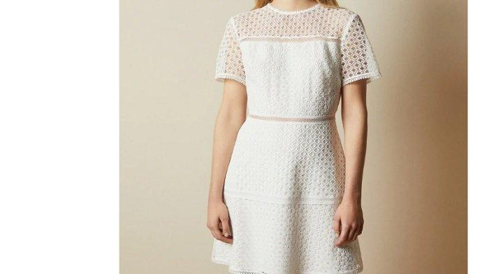 Dress putih Andin Ikatan Cinta