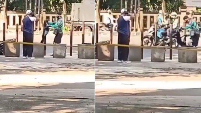 Ini Sosok Driver Ojol di Bandung yang Beri Pakaiannya ke ODGJ, Beri Pesan Agar Manusia Saling Bantu