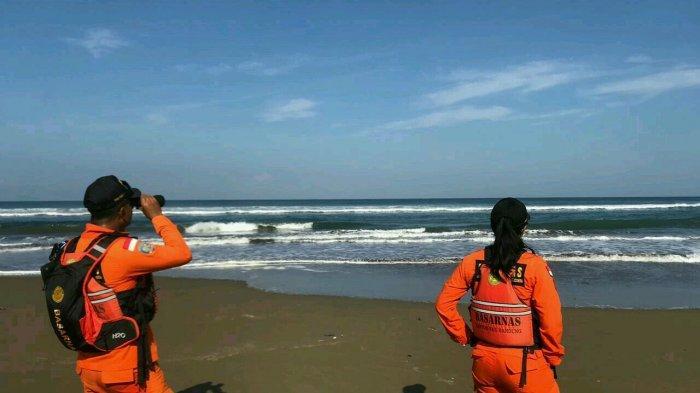 2 Anak Terseret Ombak di Pantai Cijeruk Kabupaten Garut, Seorang Tewas Satu Lainnya Masih Dicari