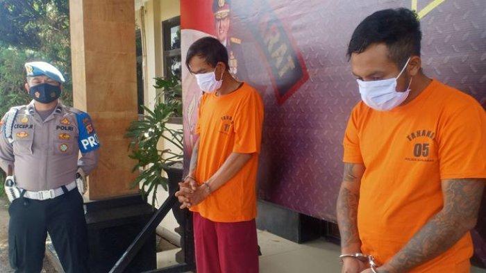 Dua Begal Ditangkap Polisi, Modusnya Bermain Drama Seakan-akan Adiknya Dipukul Korban