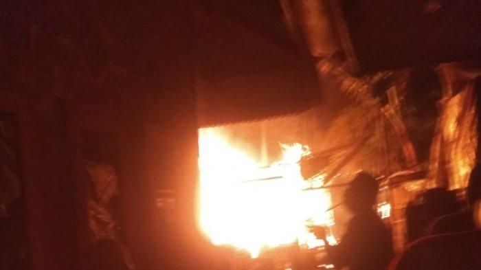 Dua Rumah di Warungkondang Cianjur Ludes Terbakar, Angin Kencang Sulitkan Pemadaman