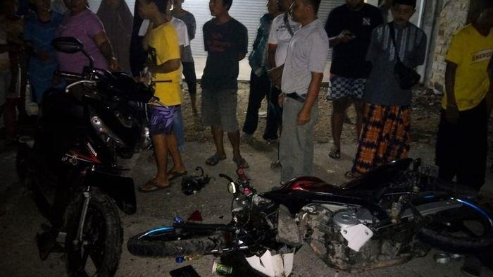 Dua Motor Tabrakan di Jalan Lurus di Pangandaran, 2 Pemotor Patah Tulang, 1 Masih Umur 13 Tahun