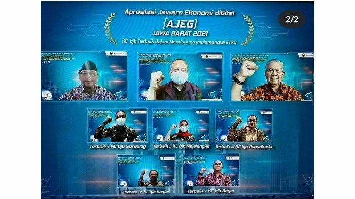 Dukung Jabar Provinsi Digital, bank bjb Akselerasi Penerapan ETPD