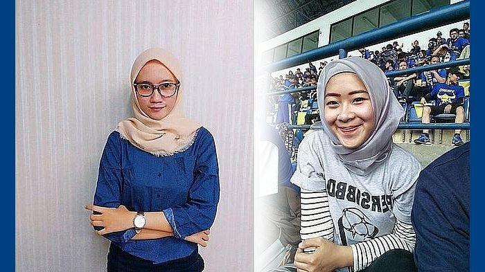 Duo Bobotoh Geulis Berhijab Ini Sangat Berharap Persib Menang atas Persiwa, Berikut Ungkapannya