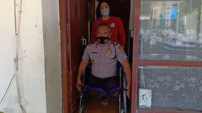 Cerita Sang Istri Soal Detik-detik Aiptu Beni Kehilangan Kedua Kaki, Polisi di Rancaekek Bandung