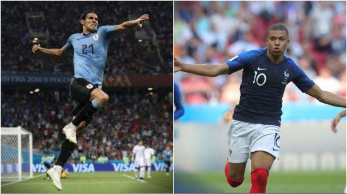Prediksi Laga Uruguay Vs Perancis di Perempatfinal Piala Dunia 2018, Berikut Perkiraan Line Up