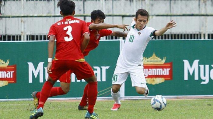 Indonesia Sementara Memimpin 1-0 atas Taiwan, Umpan Egy Maulana Vikri Berbuah Gol