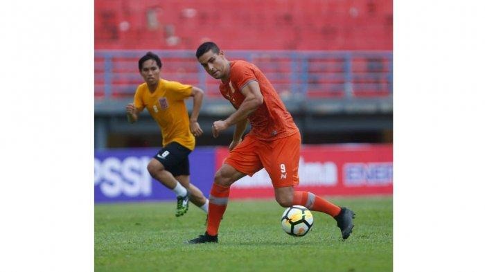 Tekad Top Scorer Borneo FC Jelang Lawan Persib Bandung
