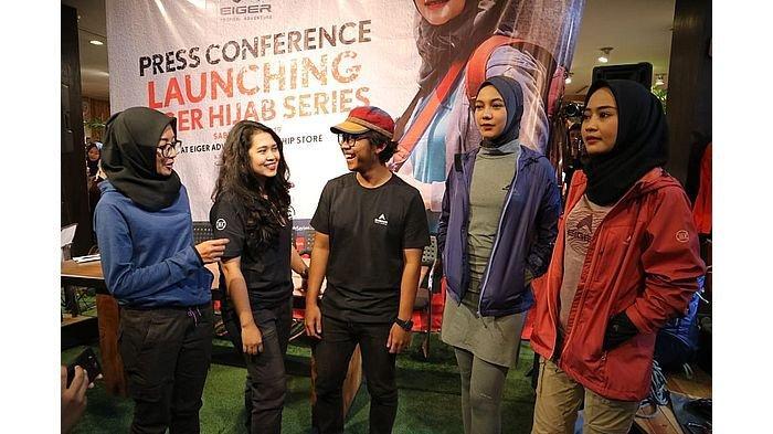 Eiger Luncurkan Hijab Dan Women Series Full Range Untuk Para Wanita Petualang Tribun Jabar