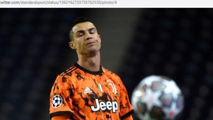 Ekspresi Cristiano Ronaldo